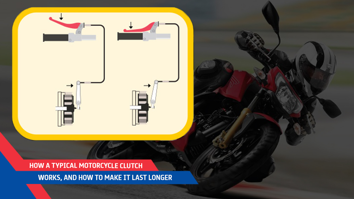 How A Typical Motorcycle Clutch Works, And How To Make It Last Longer