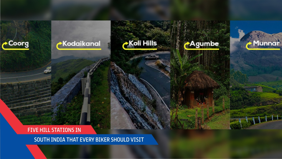 Five Hill Stations In South India That Every Biker Should Visit