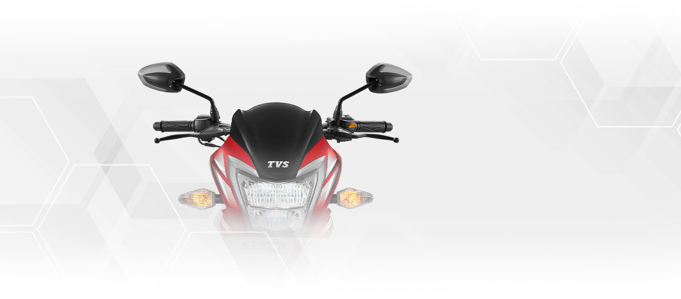 TVS Star City Plus Dual Tone Mirrors