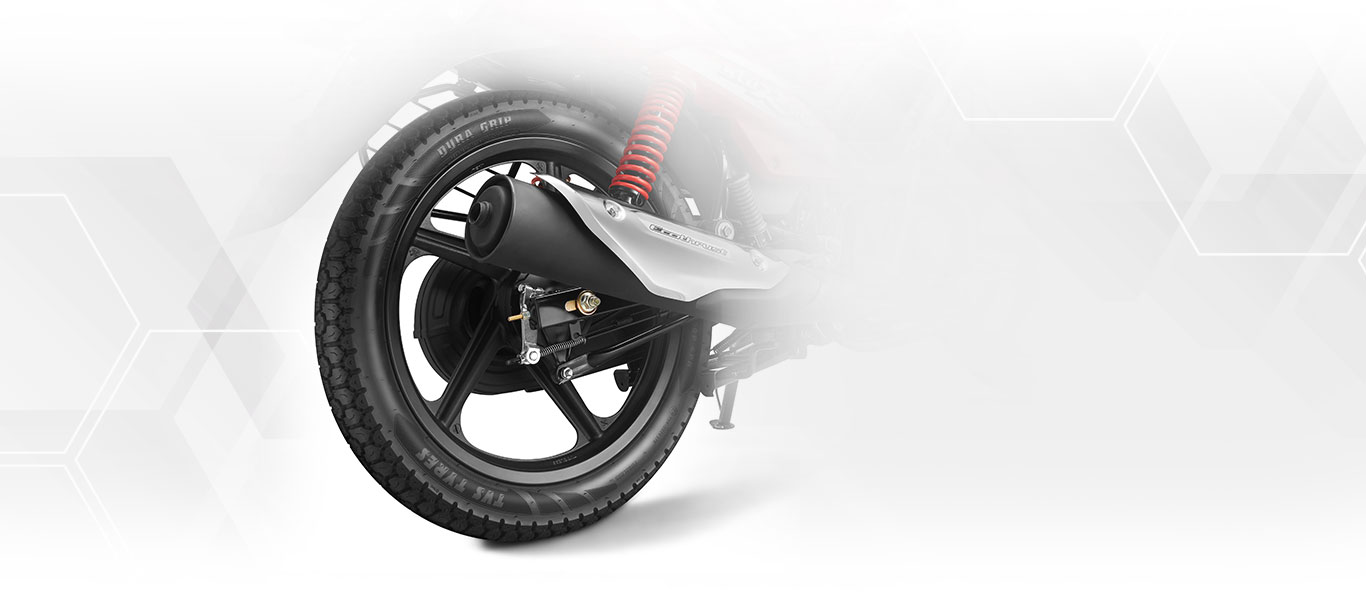TVS Star City Plus Dual Grip Tires