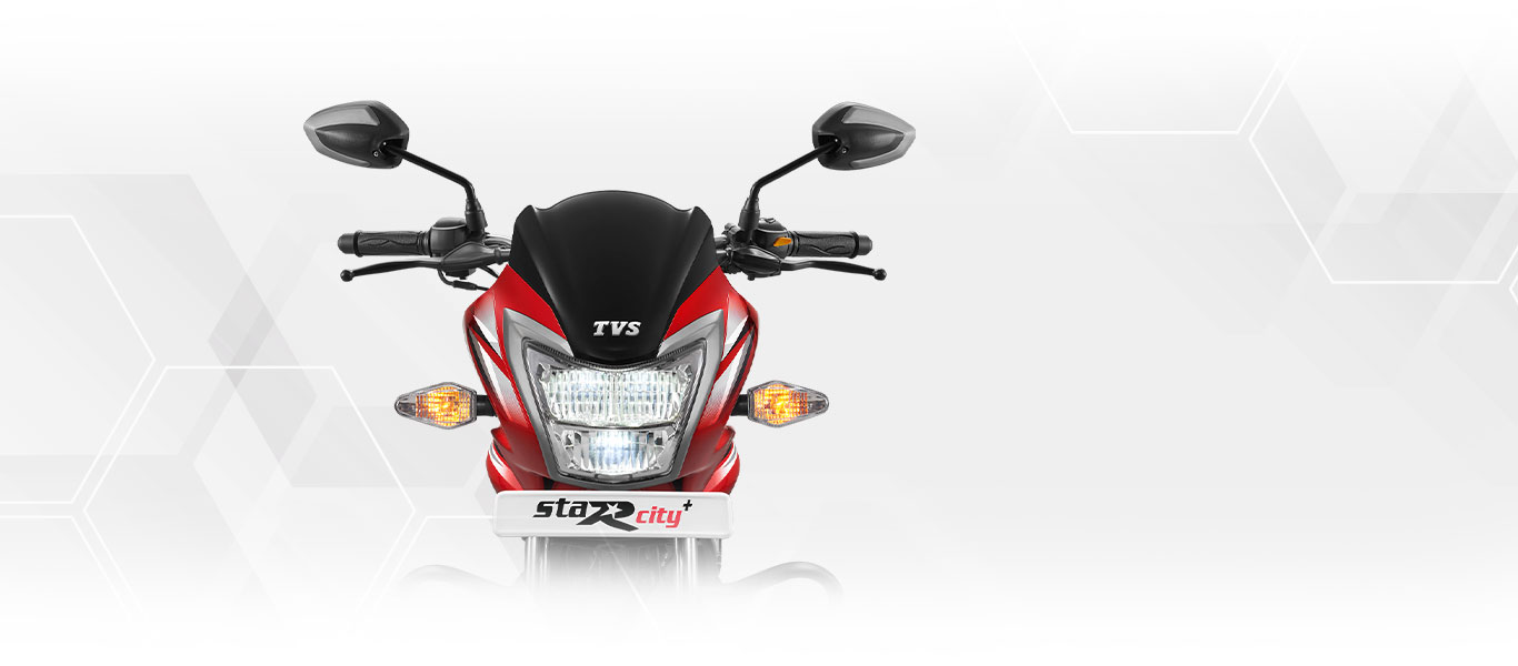 TVS Star City Plus LED Headlamp