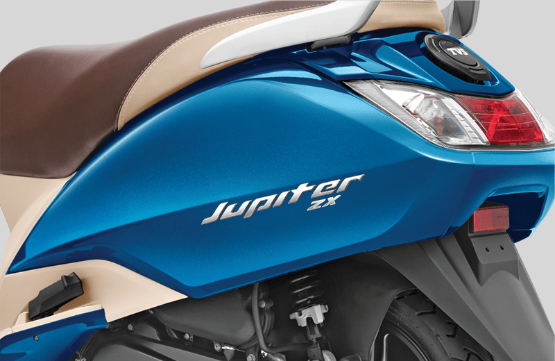 TVS Jupiter ZX BSVI Metal Body