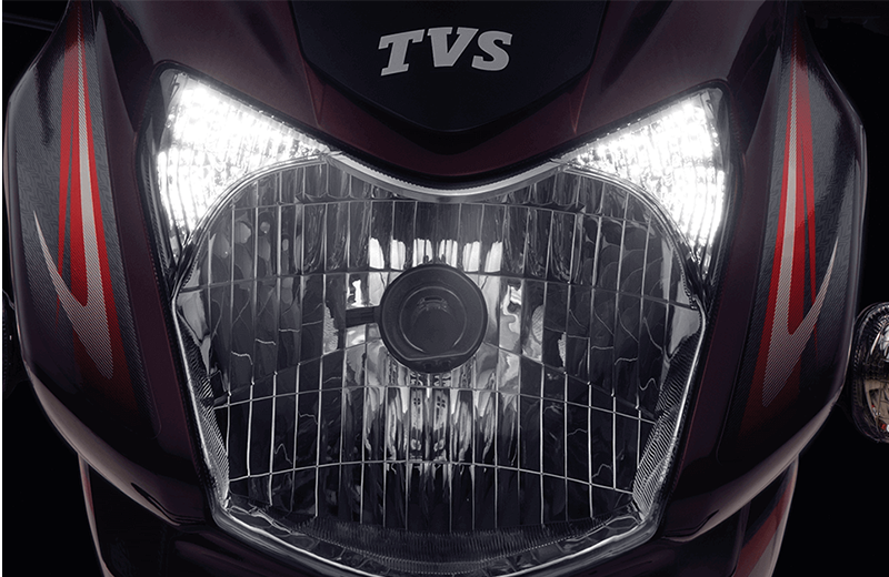 TVS Sport Stylish Day Time Running Light