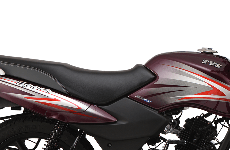 TVS Sport New Graphics and Sporty Design